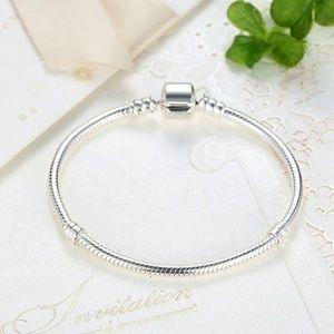 Jewelry - New - 925 Sterling Silver Charm Bracelet